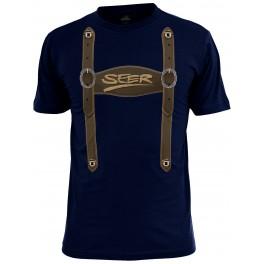 """T-Shirt """"Lederhosenoptick in  XXL"""