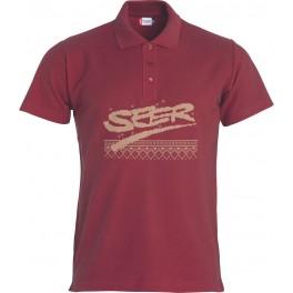 Polo-Shirt, rot Größe S